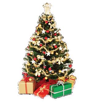 圣诞节树下礼物