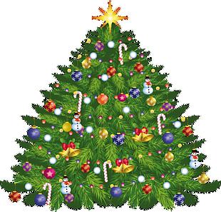 圣诞节圣诞树挂装饰