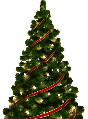 圣诞节装饰圣诞树