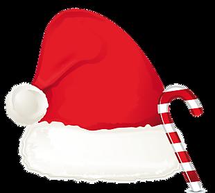 圣诞节帽子元素