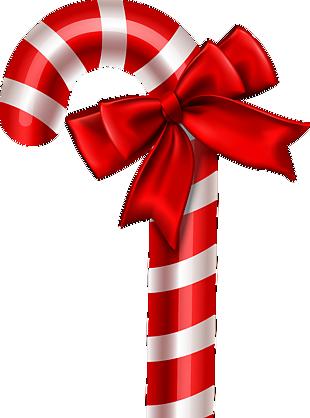圣诞节礼节拐杖