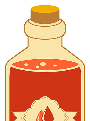 辣椒油矢量图