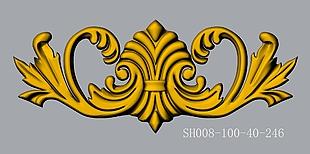 SH008-100-40-CAD3d模型