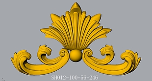 SH012-CAD3d浮雕模型