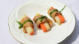 精緻的蔬食