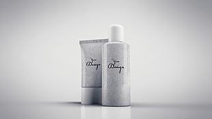 立体正面化妆瓶罐包装设计模型