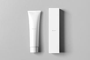 平躺条装与盒子包装设计模型