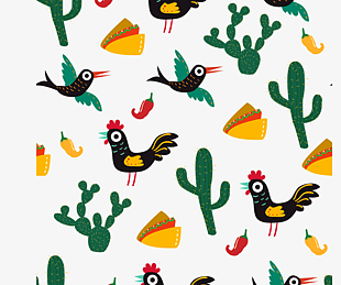 墨西哥插畫