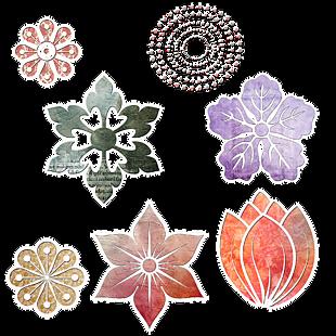 裝飾元素-花
