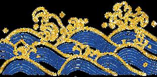 日式海浪紋
