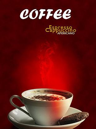 咖啡宣传单