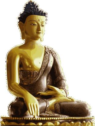 金銅佛坐像