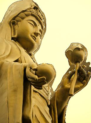 觀世音菩薩立像