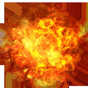 爆發的火球