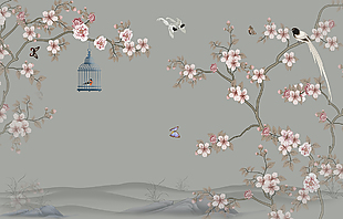 精美工筆畫中國風古風素材