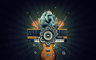 音乐背景图