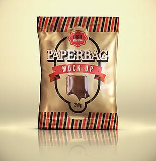 巧克力食品零食包裝樣機