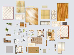室內平面模型