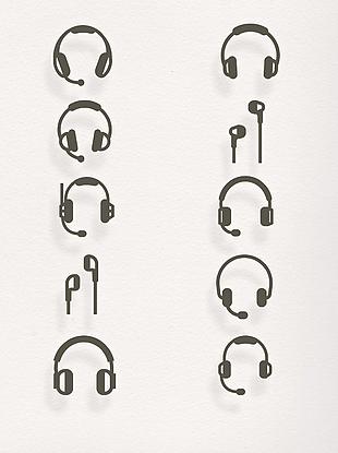 效果 元素 耳機