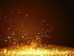 金色 颗粒