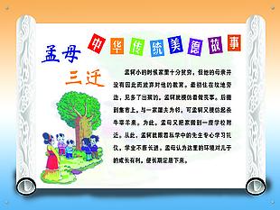 孟母三迁 中华传统美德