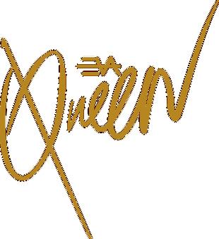 queen 字体