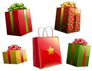 禮品盒禮品袋素材