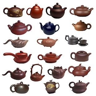 紫茶壶分层图