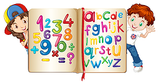 幼兒數學英文字母學習素材