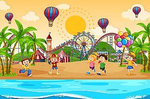 兒童海灘樂園