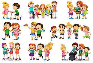 兒童各種活動聚會圖集