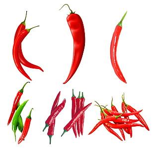 辣椒分层图片素材