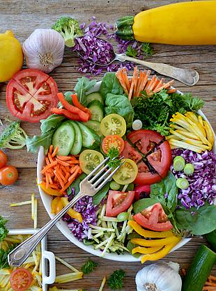蔬菜 沙拉 减肥餐