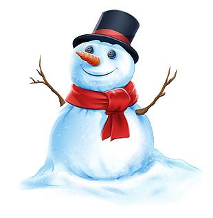 雪人矢量素材