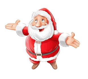 圣誕老人矢量素材