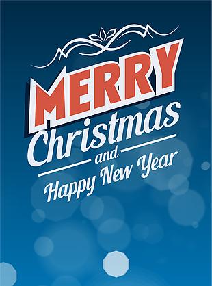 圣誕節促銷海報素材