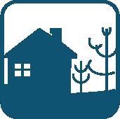 房子小鎮圖標