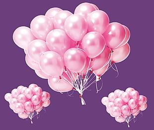粉色气球素材