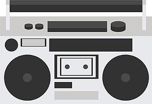 收音機矢量圖