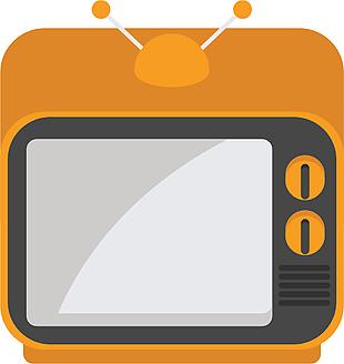 電視機矢量素材