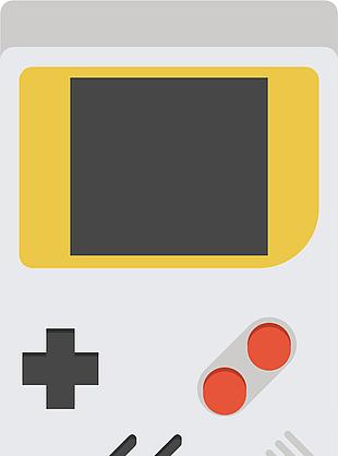 方塊游戲機矢量圖