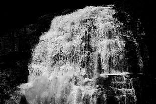 瀑布 水 風景 自然