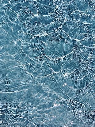 水 水紋 波動的水紋