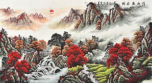 溪山幽居圖