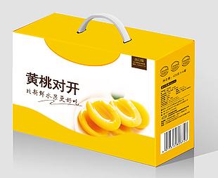 黄桃罐头礼盒