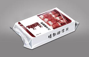 牛肉片包装