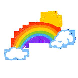 彩虹出來嘍