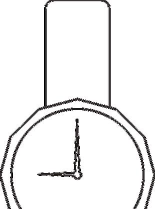 手表线条图标