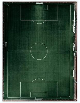 足球场 俯视图 球场