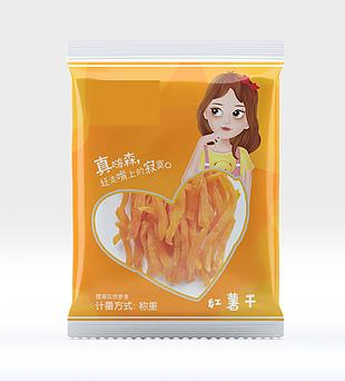 红 薯干 包装